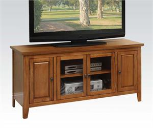 Christella Oak TV Stand,item 10342 by acme