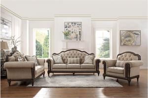 Heath Court Sofa Set Collection, 16829 homelegance
