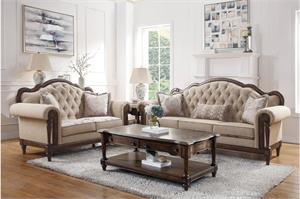 Heath Court Sofa Set Collection,16829 homelegance