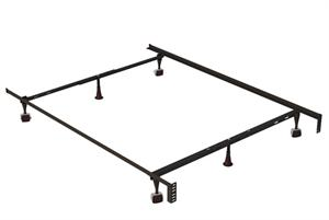 Twin/Full/Queen Adjustable Metal Frame