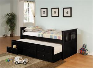 Daybed Item # 300104,by coaster,black finish