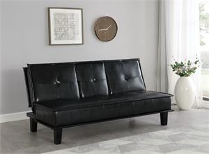 Dwight Tufted Upholstered Sofa Bed by Coaster Item 300138