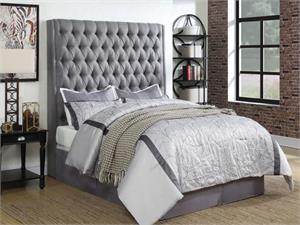 Camille Grey Headboard,300621 coaster