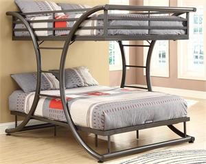 Tobin Full/Full Bunk Bed 460078,460078 coaster