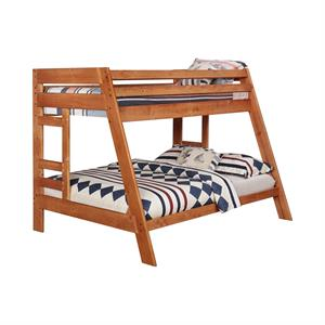 Wrangle Hill Bunk Bed Collection Amber Wash Finish by Coaster Item 460093