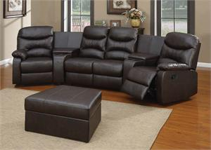 Spokane Home Theater Sectional Set50110 acmerecliner & Quinn Bomber Jacket Microfiber Recliner Collection islam-shia.org