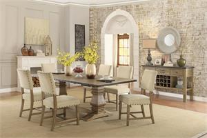 Veltry Double Pedestal Dining Collection,5328 homelegance