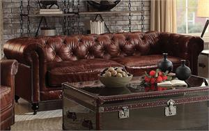 Aberdeen Top Grain Leather Sofa