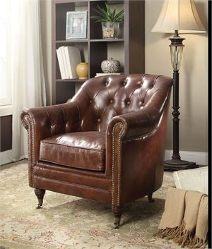 Aberdeen Top Grain Leather Chair