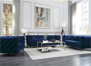 Astronia Blue Sofa Collection