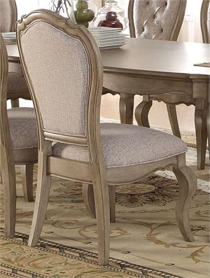 Chelmsford Collection Antique Taupe Side Chair by Acme 66052