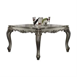Versailles Collection Antique Platinum Finish Counter Height Table 66835