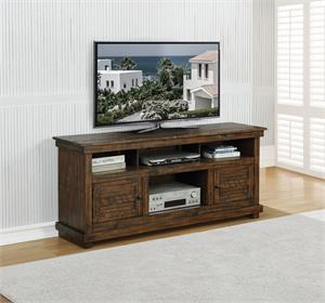 60-inch TV Stand Antique Brown Color by Coaster #708502