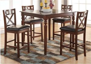 Weldon Acme Counter Height Dining Set,72625 acme,72627 acme