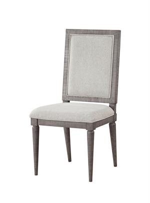 Artesia Collection Salvaged Natural Finish Side Chair Acme 77092