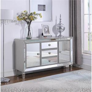 Mirror Accent Cabinet 950825 by Coaster Furniture