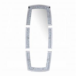 Noralie Mirror Wall Decor with Faux Diamond