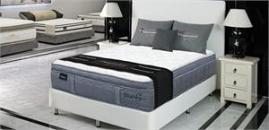 Bluesky Outer-Tufted Pocket Coil Plush Euro Top Mattress