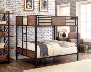 Clapton Industrial Looking Bunk Bed,cm-bk029 furniture of america