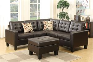 Sectional with Ottoman F6934,f6934 poundex