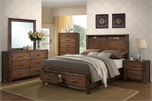 Elvy Bedroom Collection,f9329 poundex, f9329q poundex, f9329q bed,f9329 bed