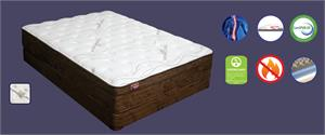 Natural Sierra #3 Euro Top Mattress by Maxim Mattress