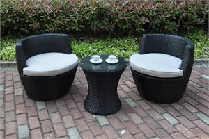 Lora 3 Piece Outdoor Dining,P50274 poundex,P50274