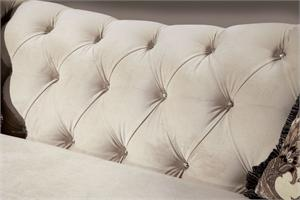 Antionette Sofa Set Ivory SM2221,SM2221-SF,SM2221LV,SM2221-SF Furniture of america,chesterfield sofa