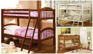 Coney Island Twin/Twin Bunk Bed,cm-bk524 furniture of america