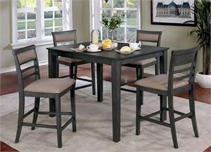 Fafnir 5 Piece Counter Height Dining,cm3607 furniture of america