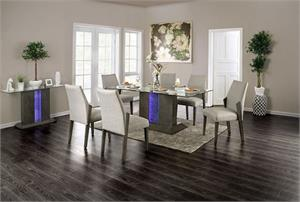 Turton Dining Collection,cm3718t dining, cm3718 furniture of america, cm3718 dining set