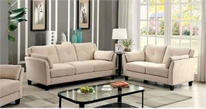 Ysabel Beige Sofa Set Collection,CM6716 furniture of america