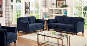Ysabel Navy Sofa Set Collection,cm6716nv furniture of america