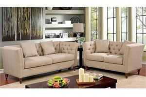 Imani Sofa Set Collection CM6860,cm6860 furniture of america,cm6860 sofa