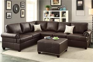 Reversible Sectional Sofa F7770 Poundex