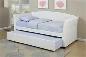 Twin Bed with Trundle F9259,f9259 poundex
