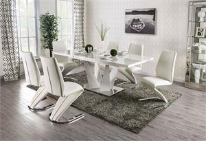 Zain Dining Set,foa3742 dining,foa3742t, foa3742 furniture of america