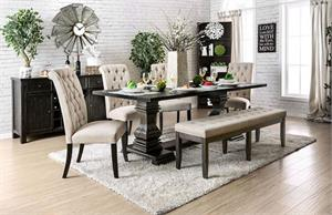 Nerissa Dining Set,cm3840t,cm3840 furniture of america.cm3840 dining