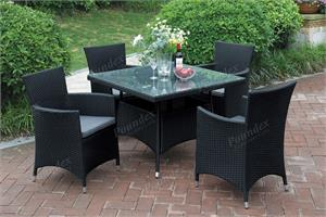 5 Piece Outdoor Dining Set Poundex 214,214 poundex patio