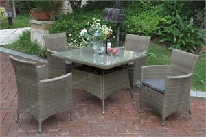 5 Piece Outdoor Dining Set Poundex 215,215 poundex patio
