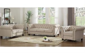 Beige Sofa Set Collection YS001